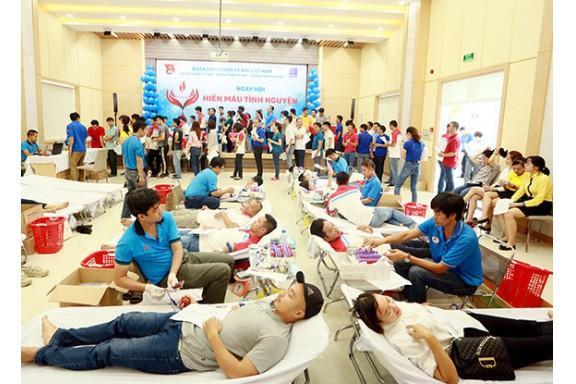 PV GAS hưởng ứng phong trào Hiến máu Nhân đạo