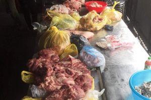 Làm rõ nguồn gốc thịt lợn chuẩn bị đưa vào bữa ăn từ thiện cho học sinh