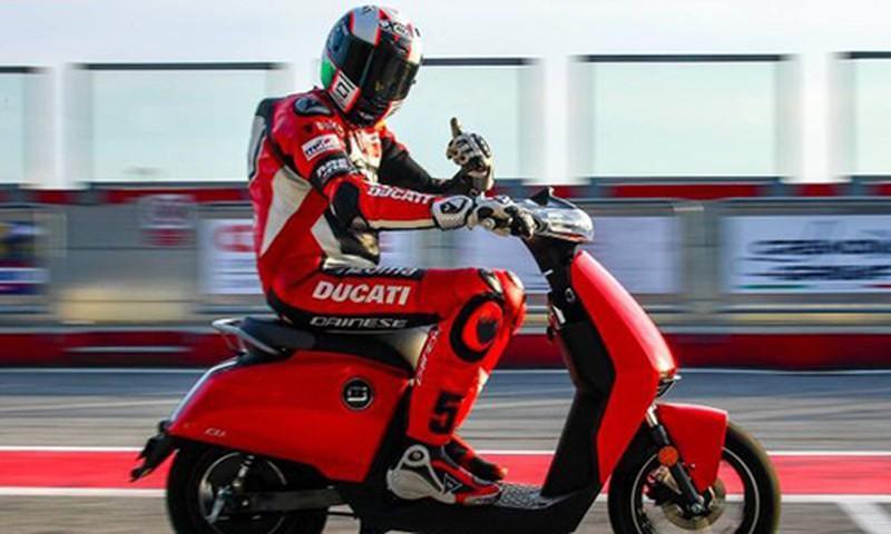 Ducati 'bắt tay' Trung Quốc sản xuất xe máy chạy điện
