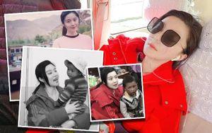 Ngày thứ 2 thiện nguyện ở Tây Tạng, Phạm Băng Băng phải thở oxy vì thời tiết