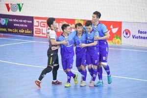 Futsal HDBank VĐQG 2019: Sahako vô địch lượt đi, Thái Sơn Nam bám sát