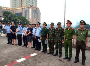 Hai đối tượng truy nã người Trung Quốc sa lưới tại Quảng Ninh