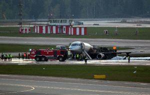 Nga mở cuộc điều tra nguyên nhân tai nạn tại sân bay Moscow