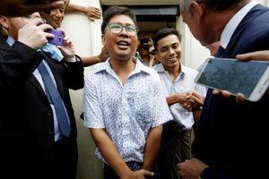 Myanmar trả tự do cho hai nhà báo đoạt giải Pulitzer sau 'sự phẫn nộ toàn cầu'