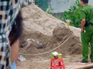 Hòa Bình: Diễn biến vụ phát hiện thi thể nam giới chết vùi trong đống cát