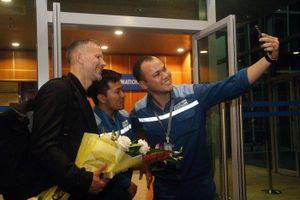 Giám đốc Bóng đá PVF Ryan Giggs tới xứ Nghệ phát triển bóng đá học đường