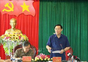 Đoàn kiểm tra của Bộ Chính trị về công tác cán bộ làm việc tại tỉnh Đắk Nông