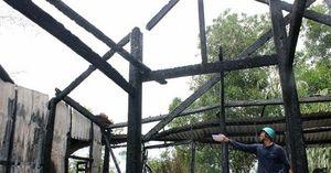 Phú Yên: Lửa thiêu rụi chùa Long Thọ