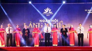 Lễ hội kết nối làng nghề - du lịch Asean 2019 có gì ấn tượng?