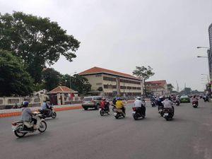 Rào đường Tôn Đức Thắng để xây cầu Thủ Thiêm 2