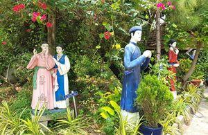 Vườn Kiều của người suốt đời đam mê văn hóa dân tộc