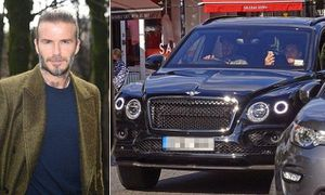David Beckham bị tước bằng 6 tháng vì vừa lái xe vừa nghe điện thoại