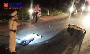 Thông tin chính thức vụ trung tá CSGT bị xe máy vi phạm đâm