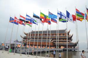 Hà Nam: 400 xe hoa hướng về Tam Chúc, tổ chức tắm Phật theo nghi lễ truyền thống