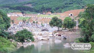 Xử phạt Cty DHC Suối Đôi do xây dựng nhiều hạng mục trái phép tại Núi Thần Tài
