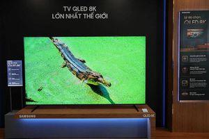 Samsung trình làng TV QLED 8K tại Việt Nam