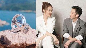 Đàm Thu Trang khoe nhẫn kim cương, chuẩn bị kết hôn với Cường Đô La