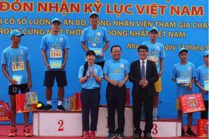 Yến Sào Khánh Hòa lập kỷ lục với 2.222 người tham gia giải việt dã