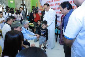 BMVSS (Ấn Độ): Giúp 500 người khuyết tật Quảng Ninh, Yên Bái hòa nhập cuộc sống