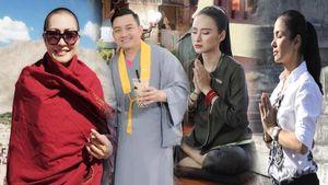 Những nghệ sĩ Việt quy y cửa Phật