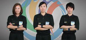 Trọng tài nữ tạo cột mốc lịch sử ở AFC Cup