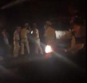 Hà Tĩnh: Thiếu tá quân đội xô xát với cảnh sát giao thông giữa đường phố