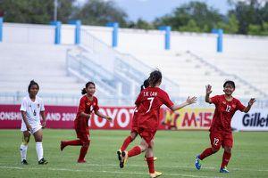 Việt Nam giành vé vào bán kết giải U.15 nữ Đông Nam Á 2019