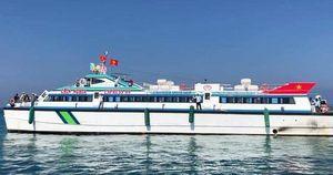 Tàu siêu tốc triệu đô bắt đầu đón khách tuyến Lý Sơn- Sa Kỳ