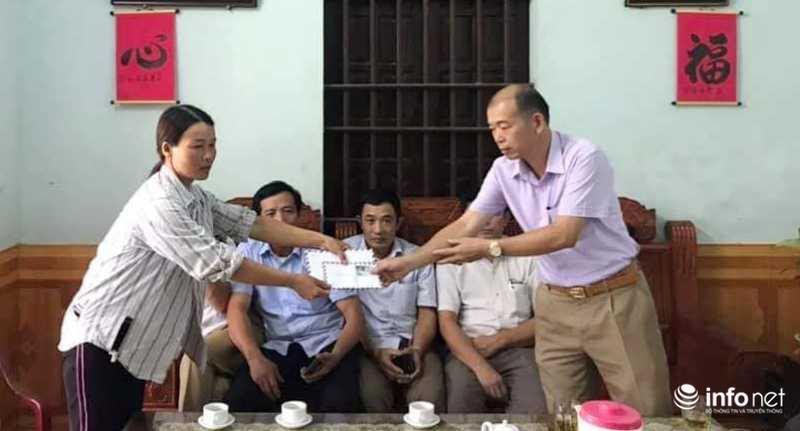 Nghệ An: Góp tiền giúp gia đình bị kẻ gian phá tan ruộng dưa