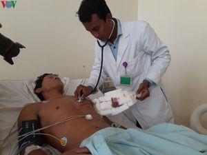 Một bệnh nhân bị thủng tim, ngưng thở được cứu sống