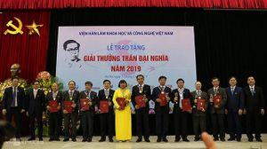 Trao tặng Giải thưởng Trần Đại Nghĩa cho bốn công trình xuất sắc