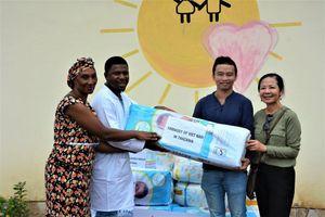 Chuyến từ thiện thắt chặt tình hữu nghị Việt Nam - Cuba - Tanzania