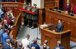 Ông Vladimir Zelensky tuyên thệ nhậm chức Tổng thống Ukraine