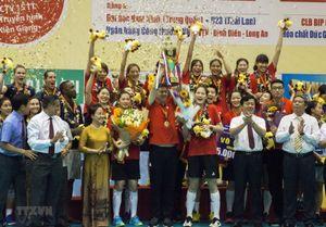 Đội Tứ Xuyên vô địch Giải bóng chuyền nữ Cup VTV9 Bình Điền