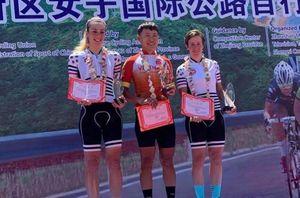 Tay đua Nguyễn Thị Thật thắng giải xe đạp đẳng cấp thế giới tại Trung Quốc