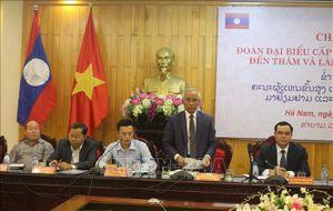 Thúc đẩy hợp tác giữa hai tỉnh Hà Nam và U-Đôm-Xay, Lào