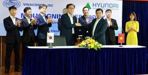 Vinaconex hợp tác với Hyundai E&C