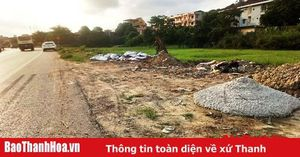 TP Thanh Hóa: Cần xử phạt nghiêm đối với hành vi đổ trộm xà bần, đất tạp