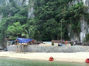 'Bê tông hóa' trái phép vùng lõi di sản vịnh Hạ Long