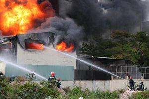 Vụ cháy lớn tại Bình Dương, thiệt hại 30 tỉ đồng
