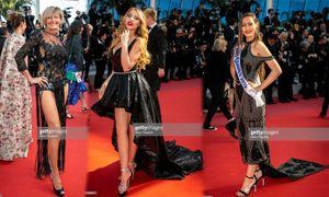 Cannes ngày 10: Vắng bóng loạt sao lớn, 'mỹ nhân lớn tuổi' vô danh làm lố