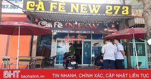 Đột kích tụ điểm ma túy núp bóng quán cà phê trong lòng TP Hà Tĩnh