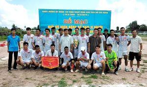 Xã Thanh Sơn vô địch Giải bóng đá nam 11 người huyện Tân Phú