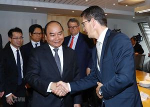 Thủ tướng Nguyễn Xuân Phúc tiếp các tập đoàn hàng đầu Na Uy