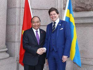 Thủ tướng gặp Chủ tịch Quốc hội Thụy Điển