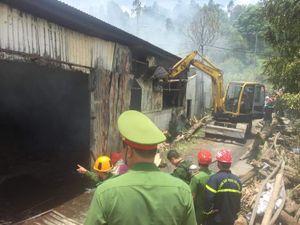 Đà Nẵng: Cháy lớn xưởng sản xuất hương