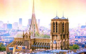 Thượng viện Pháp yêu cầu trùng tu Nhà thờ Đức Bà như cũ