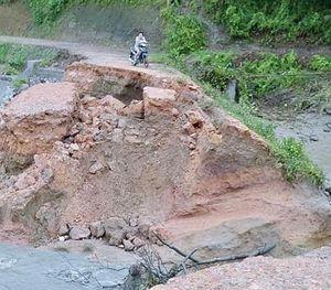 Mưa lũ, giông lốc gây thiệt hại nặng tại Thái Nguyên