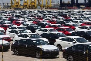 Ô tô nguyên chiếc nhập khẩu vào Việt Nam giảm 18%