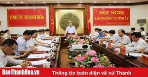 Ban Thường vụ Tỉnh ủy cho ý kiến vào kế hoạch tổ chức các hoạt động kỷ niệm 50 năm thực hiện Di chúc của Chủ tịch Hồ Chí Minh và một số nội dung quan trọng khác